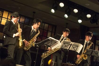 上野耕平率いるサクソフォン四重奏 The Rev Saxophone Quartet が『サンデー・ブランチ・クラシック』に登場
