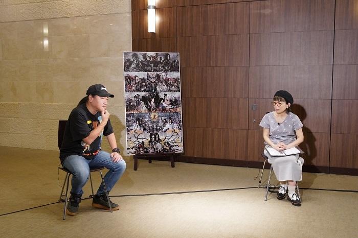 (左から)いのうえひでのり、徳永京子 撮影:宮川舞子