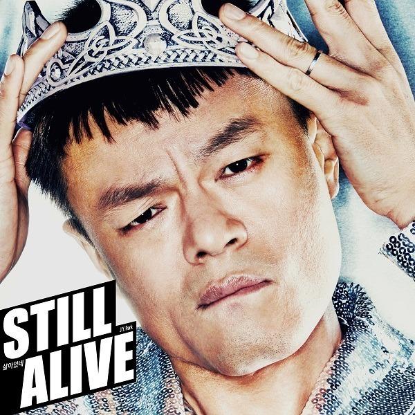 JYP/パクジニョン-STILL ALIVE/カセットテープジャケットより