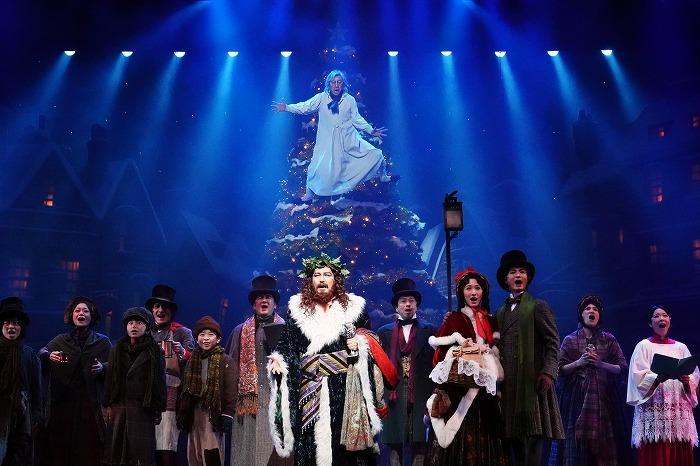 ミュージカル『スクルージ ~クリスマス・キャロル~』舞台写真