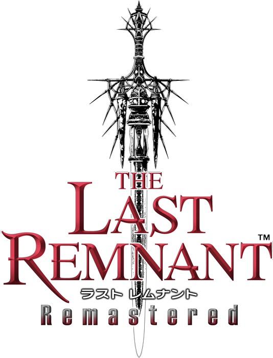 『THE LAST REMNANT Remastered』ロゴ (C)2008, 2019 SQUARE ENIX CO., LTD. All Rights Reserved.