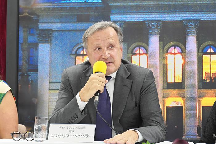 ニコラウス・バッハラー総裁