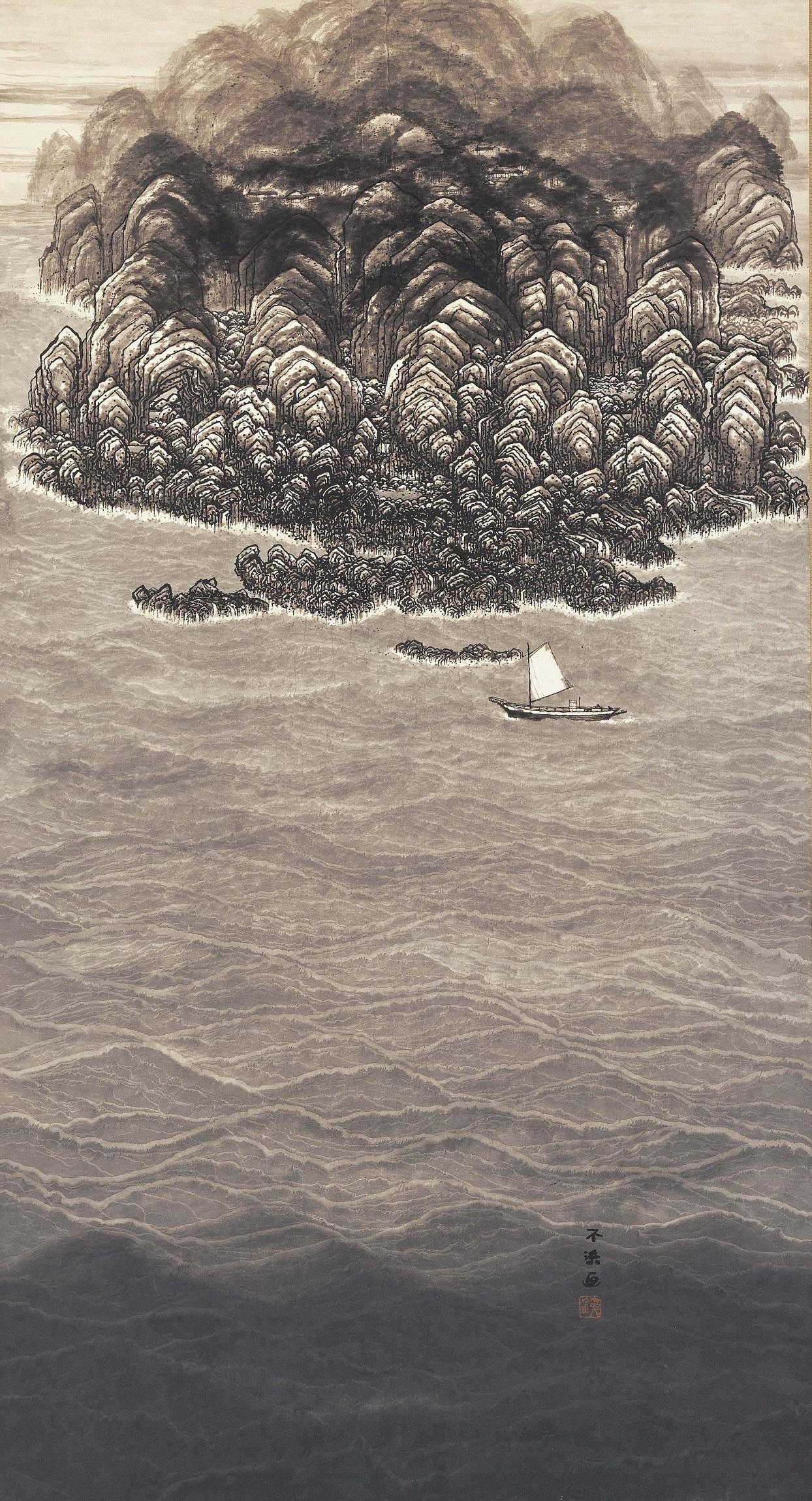 《南海之図》昭和30(1955)年頃 愛知県美術館蔵