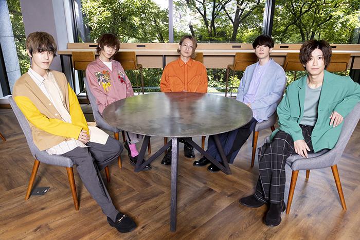 (左から)本田礼生、宮崎 湧、陳内 将、野口 準、赤澤 燈