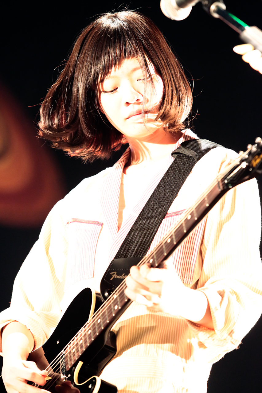 SHISHAMO 撮影=柴田恵理