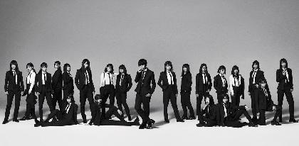 """欅坂46、黒のタイトスーツに身を包み""""クールでカッコいい""""新ビジュアル 10月リリースのシングル詳細を公開"""