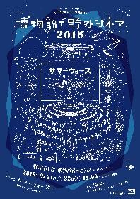 『博物館で野外シネマ』、東京国立博物館で9月開催 今年の上映作品は『サマーウォーズ』に決定
