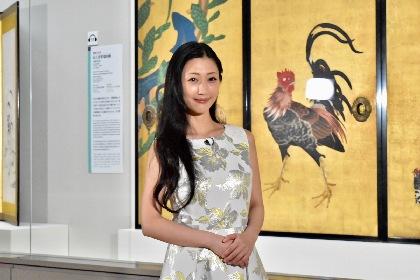 特別展『名作誕生-つながる日本美術』開幕レポート 音声ガイド担当の壇蜜「臨場感たっぷりの空間を味わって」