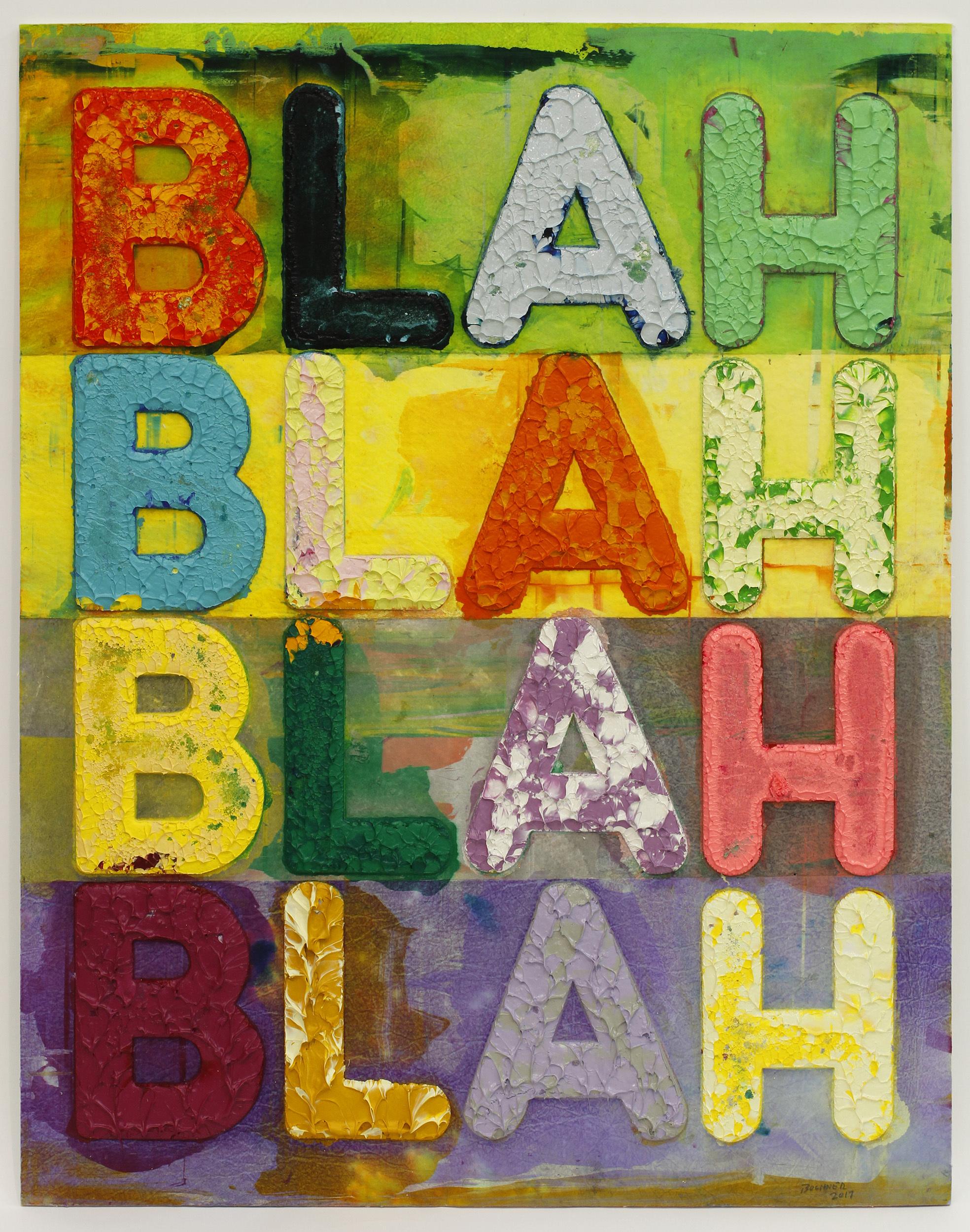 AFT2019参考出品作品 「ブラー、ブラー、ブラー、」メル・ボックナー