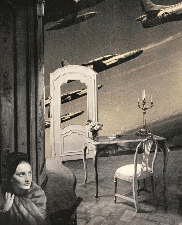 《予感》©Okanoue Toshiko, 高知県立美術館蔵  Premonition (C)Okanoue Toshiko, Collection of the Musuem of Art, Kochi