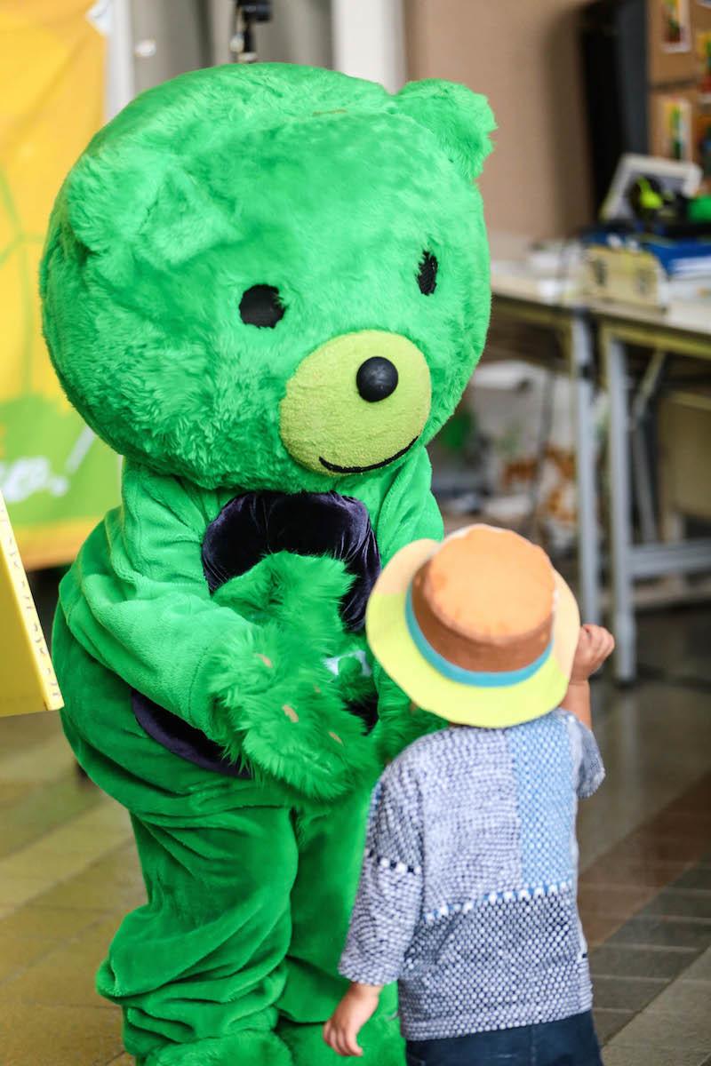 緑色で高い演奏スキルを持つ熊・ゼロノミクマがいるのも個人的なアゲポイント