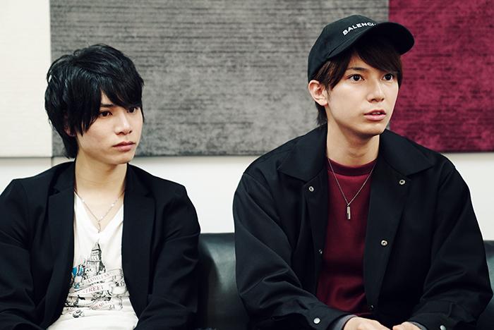 (左から)二葉勇、糸川耀士郎
