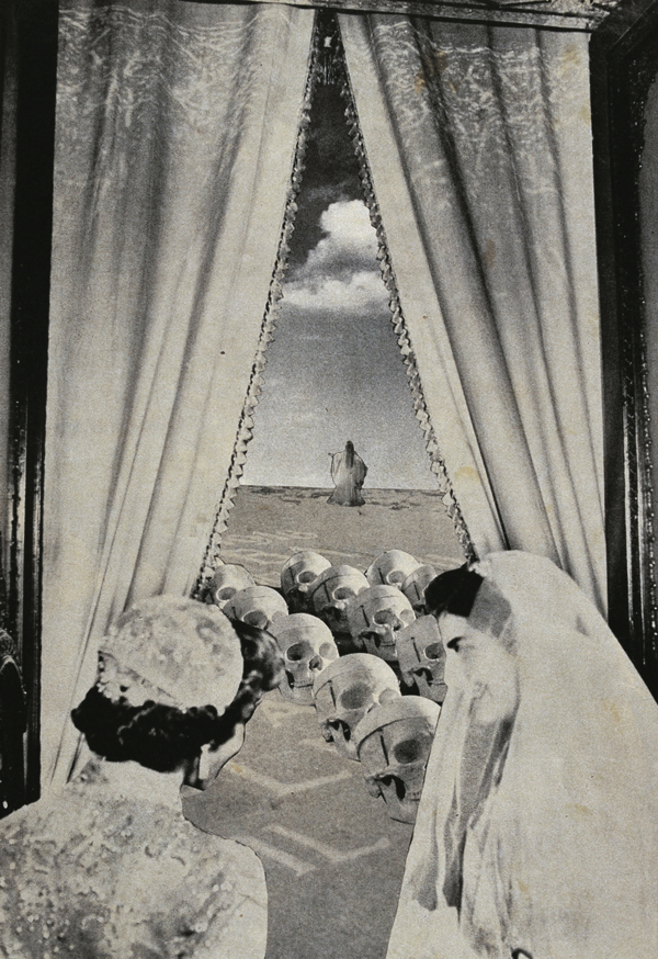 《懺悔室の展望》©Okanoue Toshiko, ヒューストン美術館蔵  View from Penitentiary (C)Okanoue Toshiko, Collection of the Musuem of Fine Arts, Houston