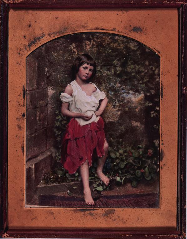 チャールズ・ラト ウィッジ・ドッドソン 「アリ ス・リデルの肖像」(複製) From The New York Public Library