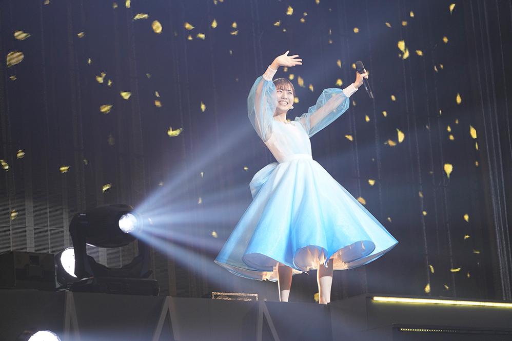 石原夏織1st LIVE TOUR『Face to FACE』より