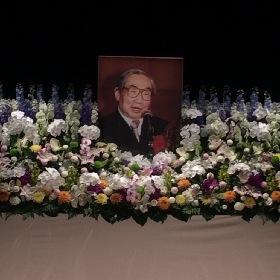 熊倉一雄さんのお別れ会