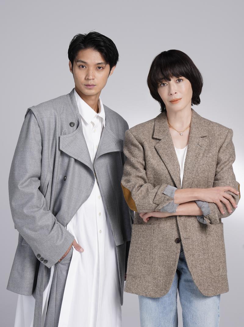 (左から)磯村勇斗、宮沢りえ