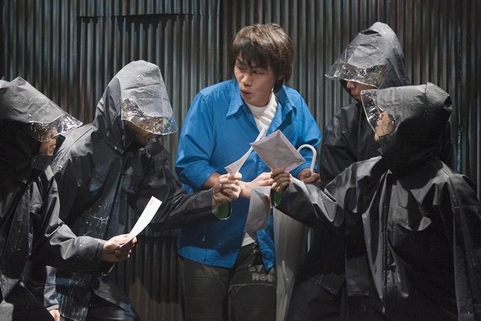 南河内万歳一座『ラブレター』(2010年再演)。 (c)谷古宇正彦