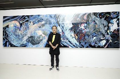 『FINAL FANTASYと天野喜孝の世界展』が開幕 天野「オリジナルを是非会場で見てください」