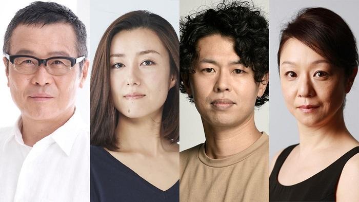 (左から)伊藤正之、東風万智子、箱田暁史、山下容莉枝