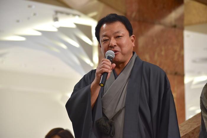 三越日本橋本店長の牧野伸喜氏
