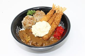 交流戦ミックス丼(税込1,000円)