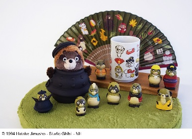 スタジオジブリ作品『平成狸合戦ぽんぽこ』、ゆびにんぎょうが5月から発売開始に