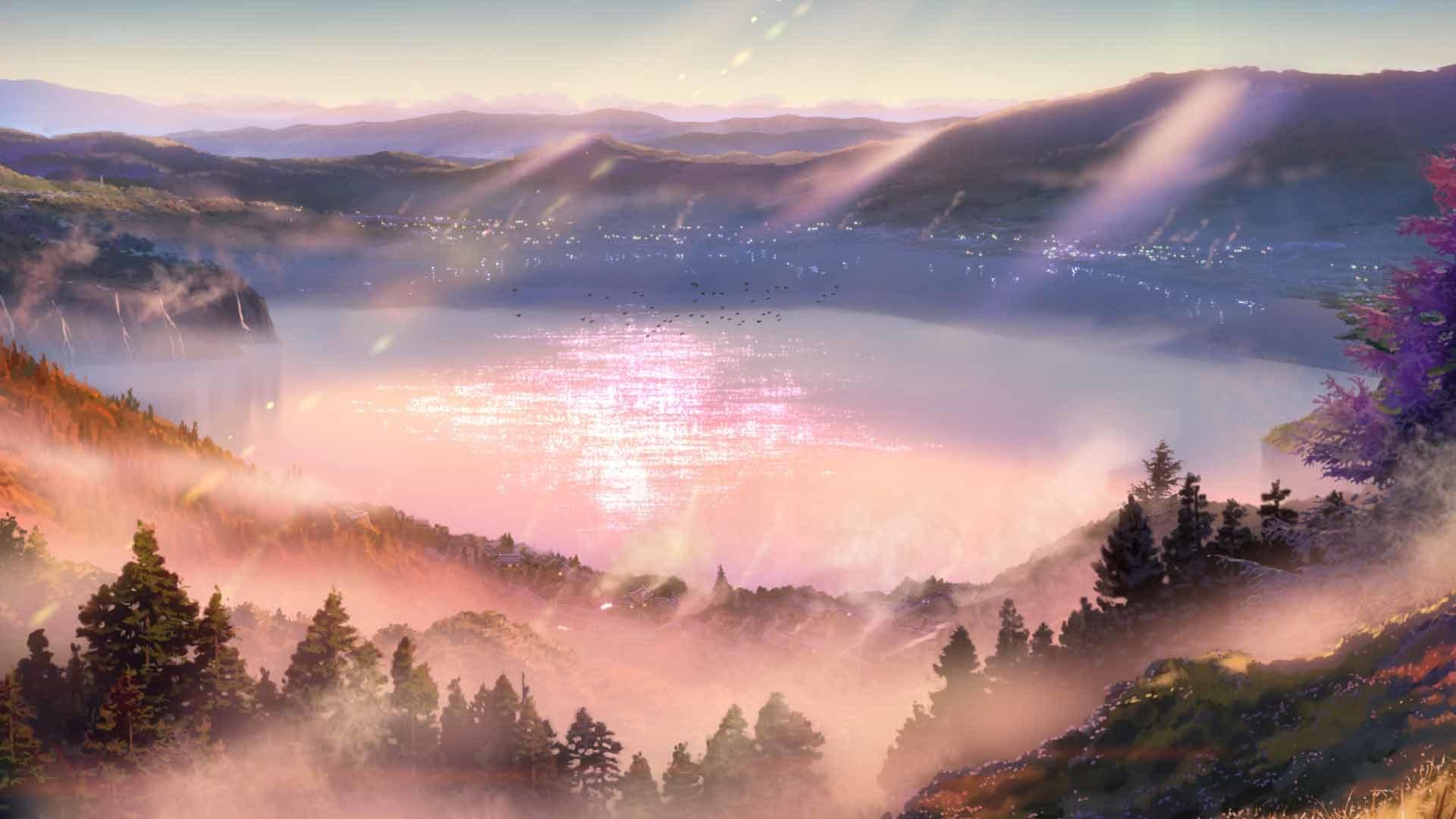 風景カット(糸守)©2016「君の名は。」製作委員会