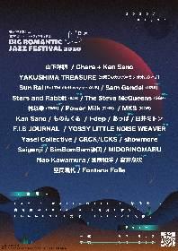 月見ル君想フ主催サーキットフェス『BIG ROMANTIC JAZZ FESTIVAL 2020』最終出演者発表で11組を追加