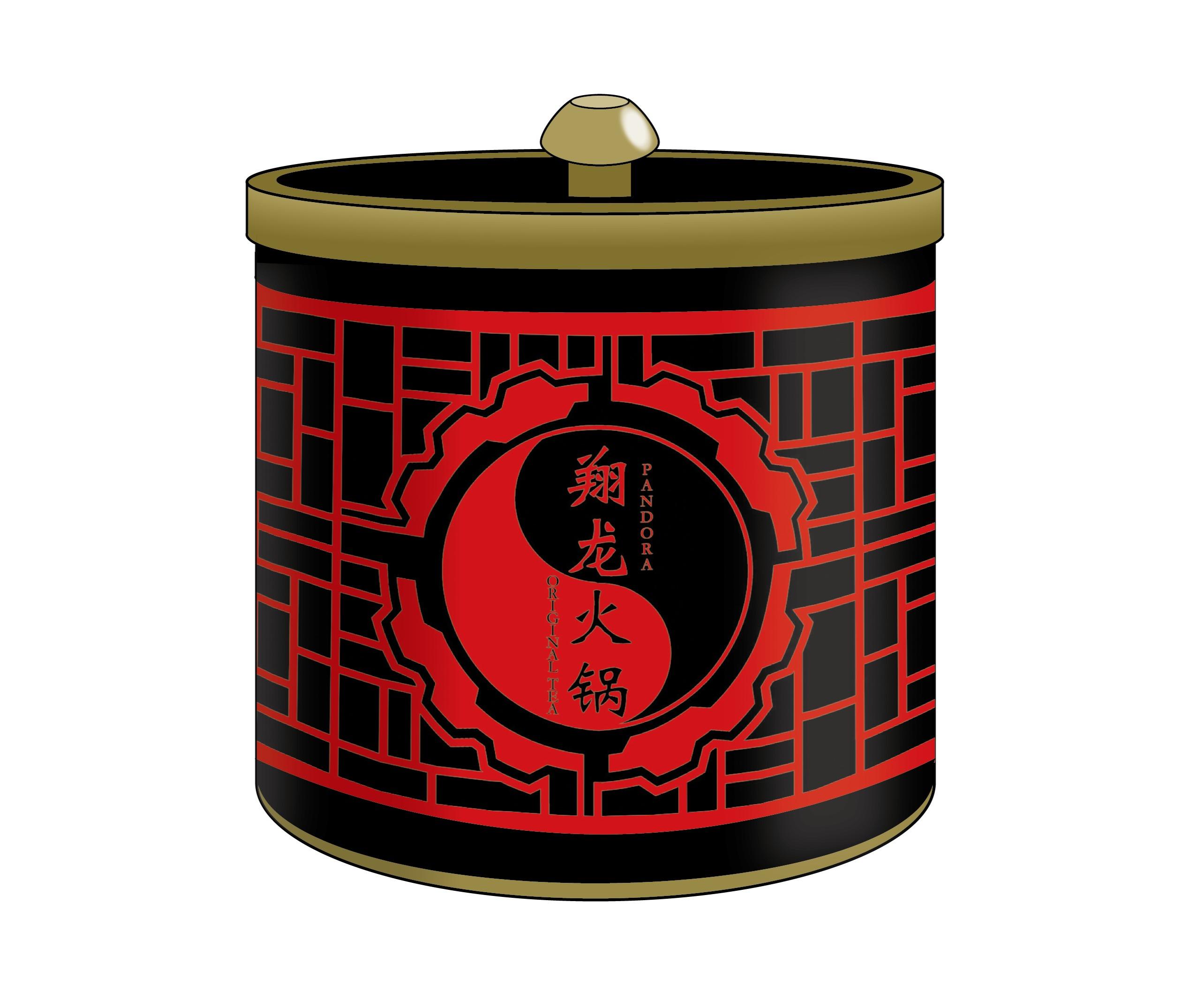 「翔龍火鍋」特製ウーロン茶トレーディング缶バッジ付き