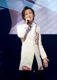 山内惠介、念願の日本武道館でデビュー20周年記念リサイタルを開催 全26曲を熱唱