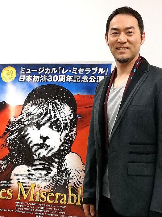 ミュージカル『レ・ミゼラブル』合同取材会にて(撮影/石橋法子)