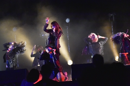 神使轟く、激情の如く。 魔法少女になり隊、ミオヤマザキを迎えた対バンライブ『LEGIT Vol.10』レポート