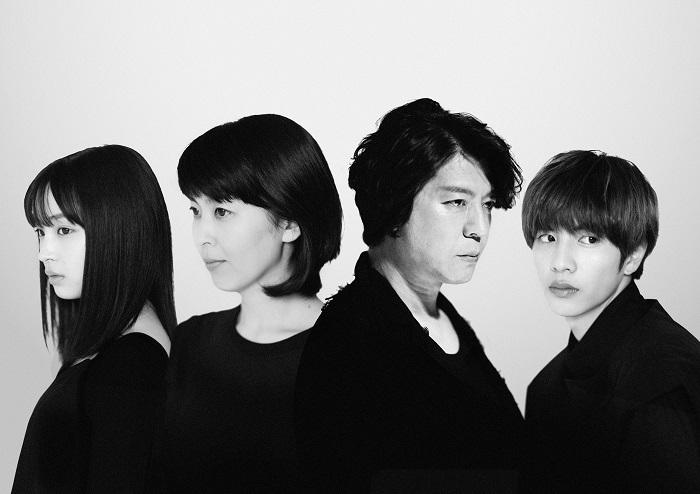 (左から)広瀬すず、松たか⼦、上川隆也、志尊淳