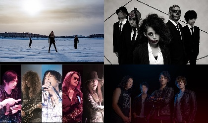 GYZE×UNDEAD CORPORATION、BLINDMAN×BLACK SWEET、渋谷club asiaでハード&ヘヴィな対バン