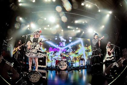 BAND-MAID、全世界に向けた配信ライブが2公演連続で全米トレンドTOP10の快挙を達成