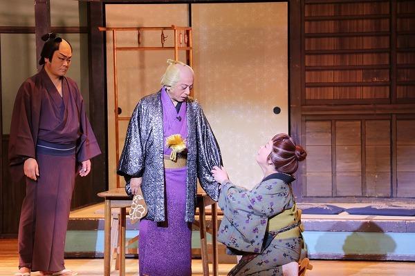 お芝居『親子草紙』 ©テレビ朝日