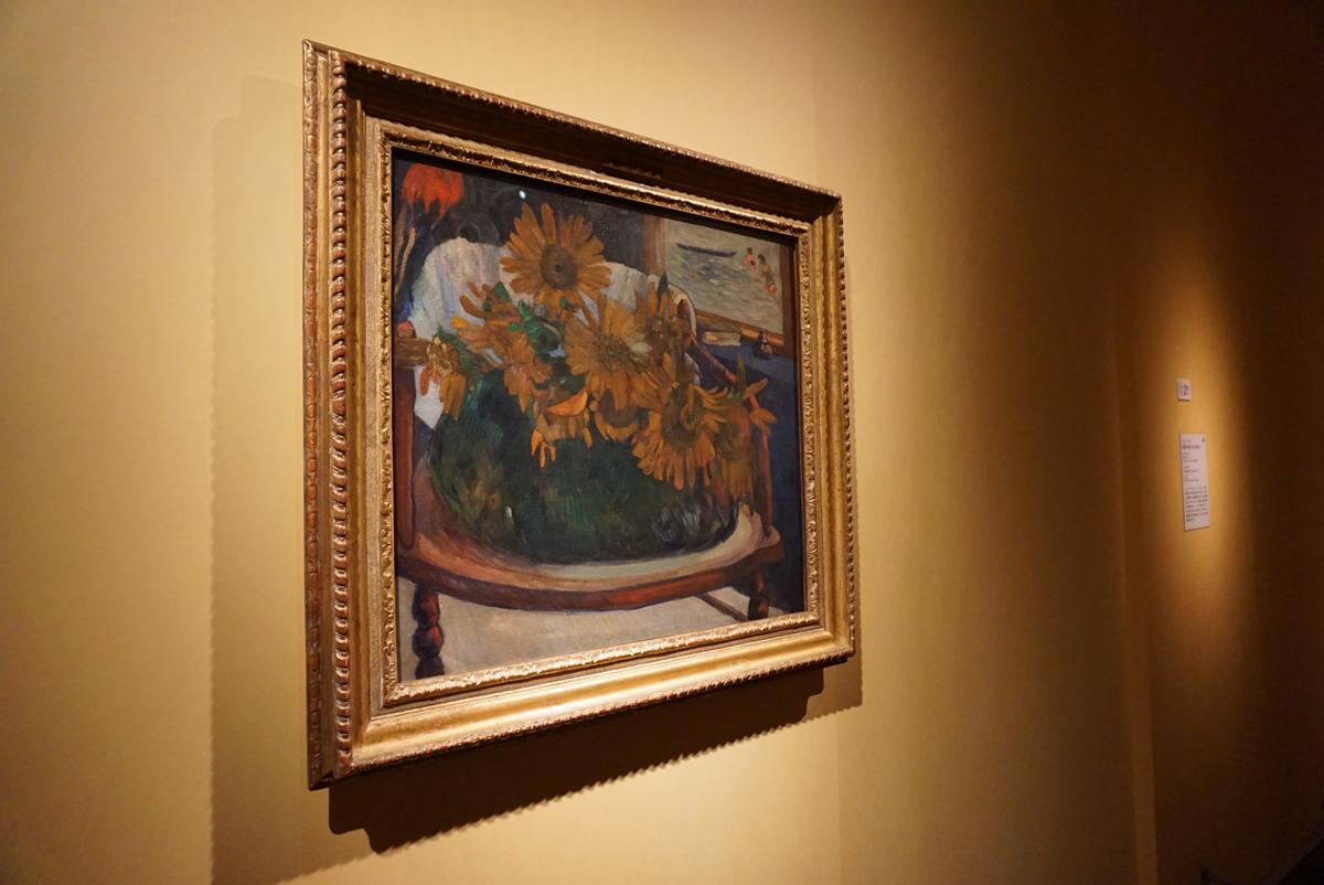 《肘掛け椅子のひまわり》ポール・ゴーギャン/E.G. ビュールレ・コレクション財団  ©Foundation E. G. Bührle Collection, Zurich