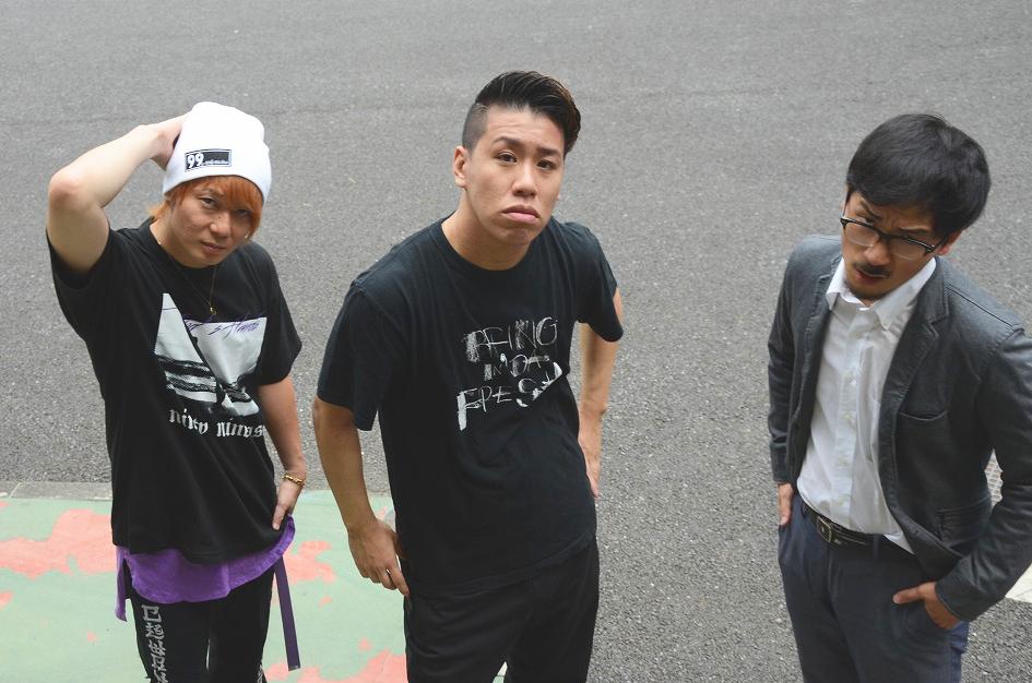 (左から)植木豪、伊藤今人、DOTAMA、