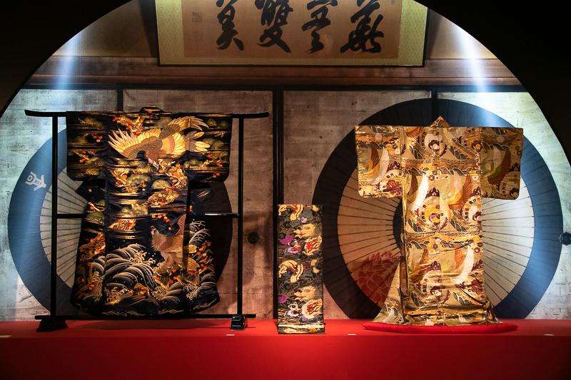 特別展『きもの KIMONO』展示風景