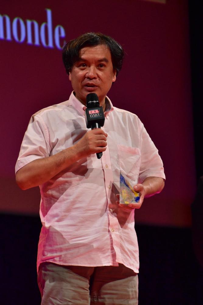 第41回アヌシー国際アニメーション映画祭・授賞式 片渕須直監督
