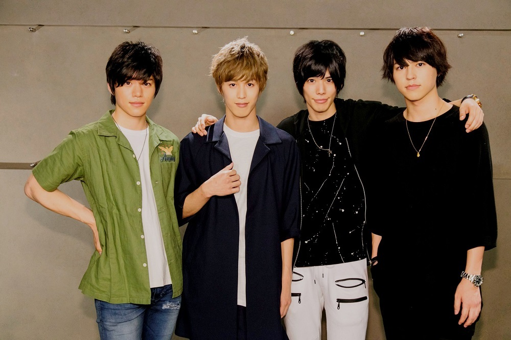 (左から)佐藤祐吾、本田礼生、健人、森田桐矢