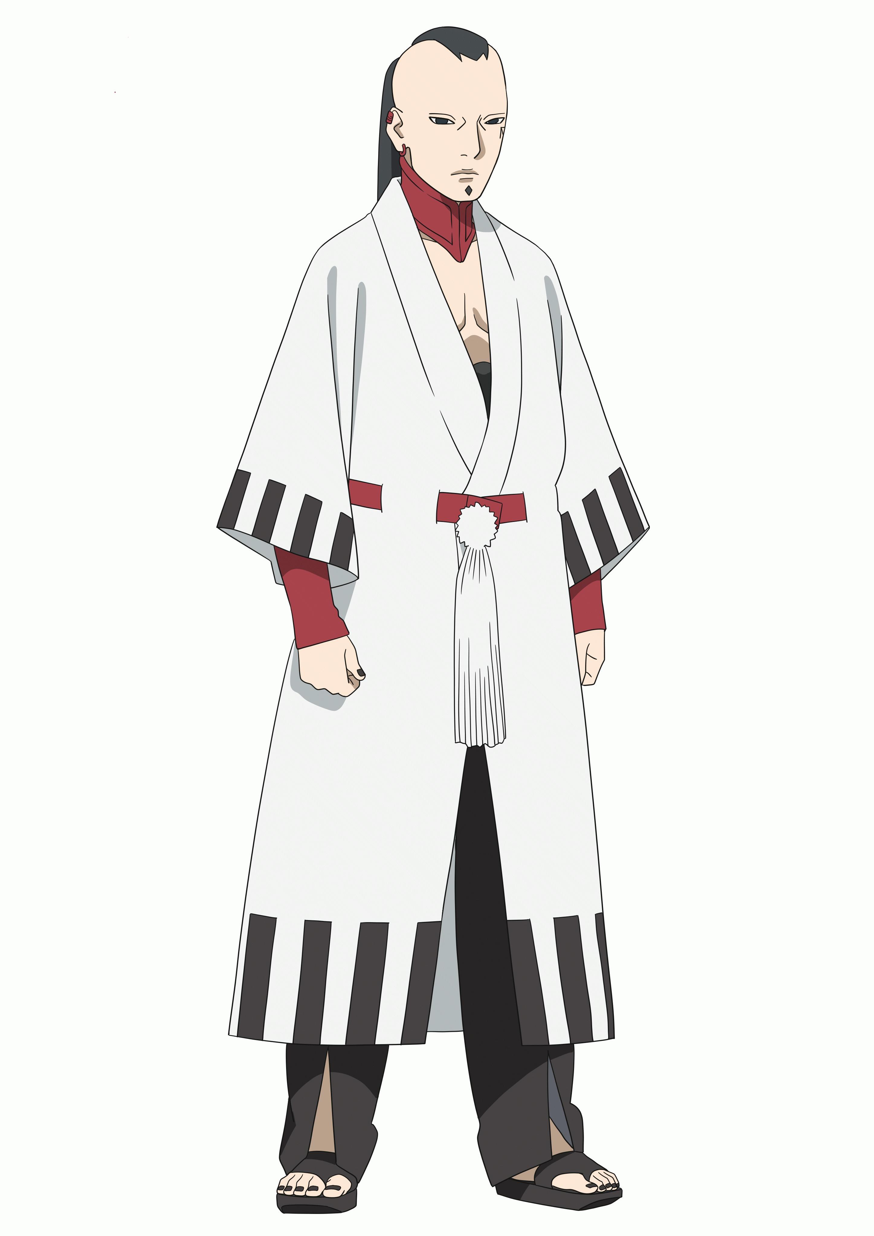 ジゲン(CV:津田健次郎)謎の組織「殻」のリーダー。 そのすべては謎に包まれていて、 ボルトの運命に大きく関わっていく。