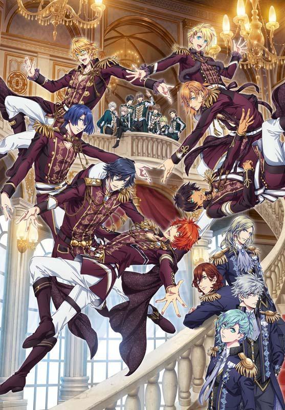 『劇場版 うたの☆プリンスさまっ♪ マジLOVEキングダム』メインビジュアル (C)UTA☆PRI-MOVIE PROJECT