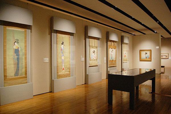 『上村松園 ―美人画の精華―』展示風景