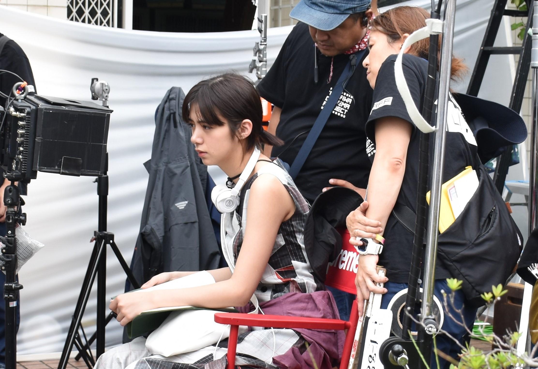 映画『夏、至るころ』撮影時の池田エライザ