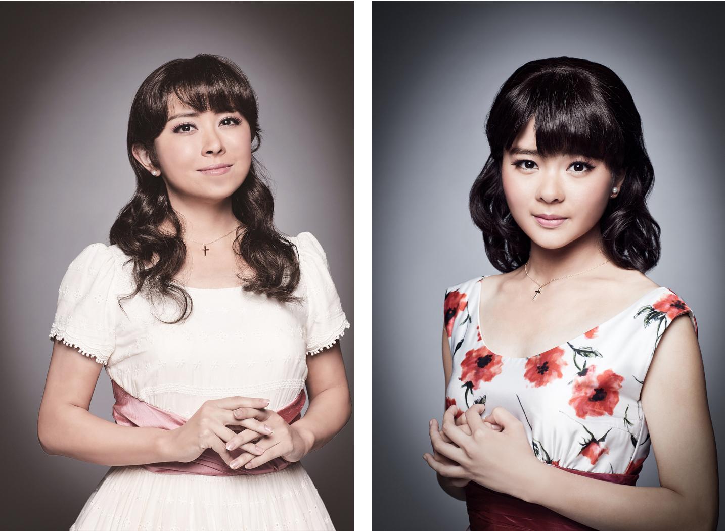 (左から)マリア役 宮澤エマ、田村芽実(Wキャスト)