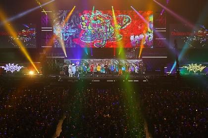 ヒプマイ、大阪城ホールライブBD・DVD発売決定!3月の5thライブにZeebra、Creepy Nuts、nobodyknows+も出演