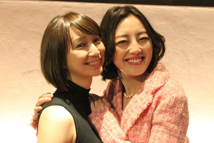 (左から)芹那、沢井美優