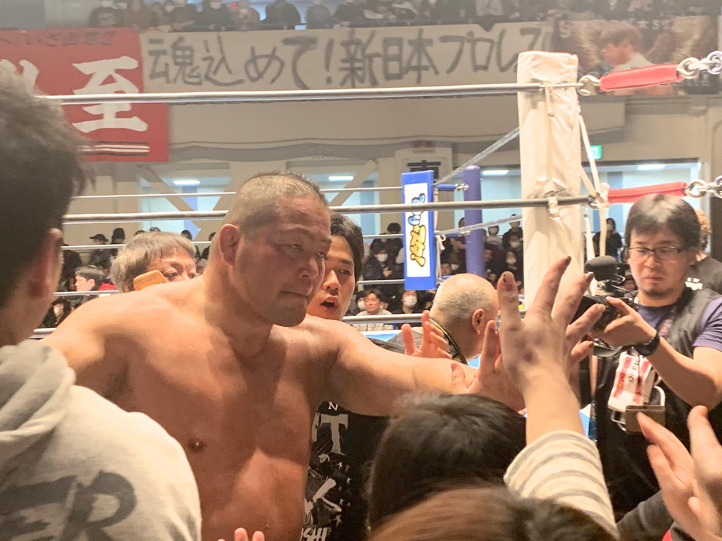 新日本プロレスの歴史を繋いだ野人